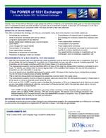 Power of 1031 Fact Sheet