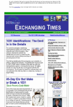 Exchanging Times Newsletter